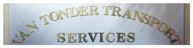 Van Tonder Office Banner
