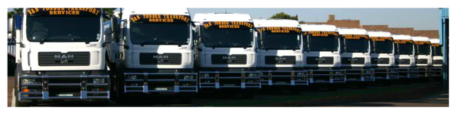 Van Tonder MAN Trucks in Yard